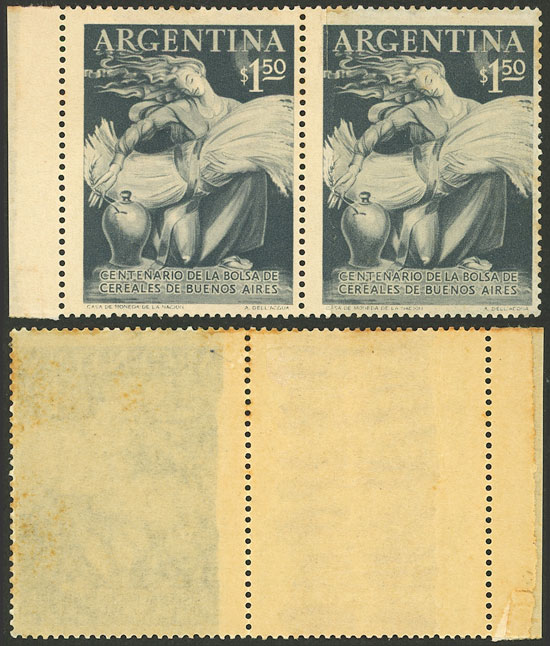 Lot 760 - Argentina general issues -  Guillermo Jalil - Philatino Auction # 2117 ARGENTINA: small but very attractive auction