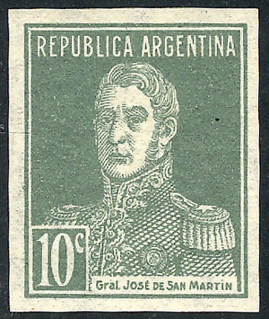 Lot 445 - Argentina general issues -  Guillermo Jalil - Philatino Auction # 2117 ARGENTINA: small but very attractive auction