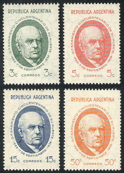 Lot 532 - Argentina general issues -  Guillermo Jalil - Philatino Auction # 2117 ARGENTINA: small but very attractive auction