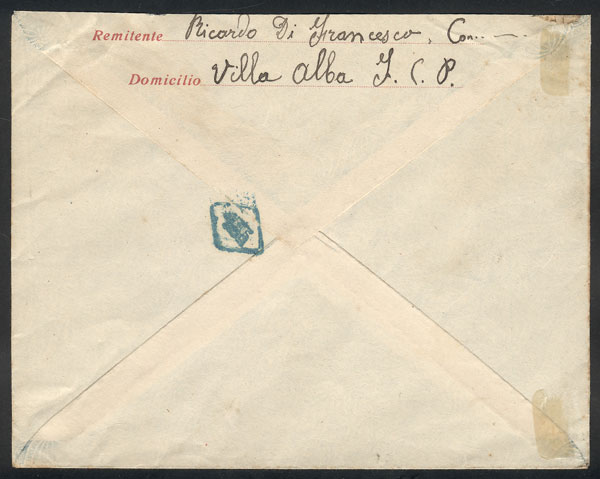 Lot 1638 - Argentina postal history -  Guillermo Jalil - Philatino Auction # 2117 ARGENTINA: small but very attractive auction