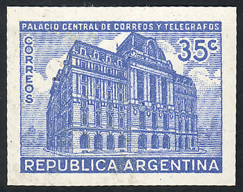 Lot 628 - Argentina general issues -  Guillermo Jalil - Philatino Auction # 2117 ARGENTINA: small but very attractive auction