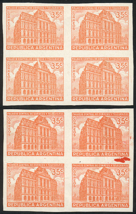 Lot 629 - Argentina general issues -  Guillermo Jalil - Philatino Auction # 2117 ARGENTINA: small but very attractive auction