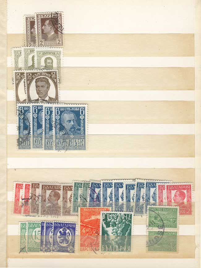 Lot 1608 - Bulgaria Lots and Collections -  Guillermo Jalil - Philatino Auction # 2120 WORLDWIDE + ARGENTINA: General June auction