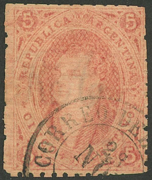 Lot 300 - Argentina rivadavias -  Guillermo Jalil - Philatino Auction # 2120 WORLDWIDE + ARGENTINA: General June auction