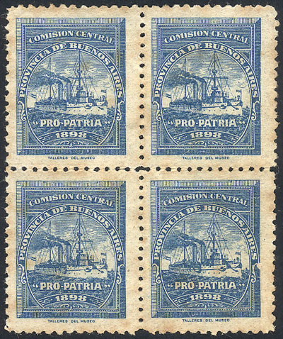 Lot 1209 - Argentina cinderellas -  Guillermo Jalil - Philatino Auction # 2120 WORLDWIDE + ARGENTINA: General June auction