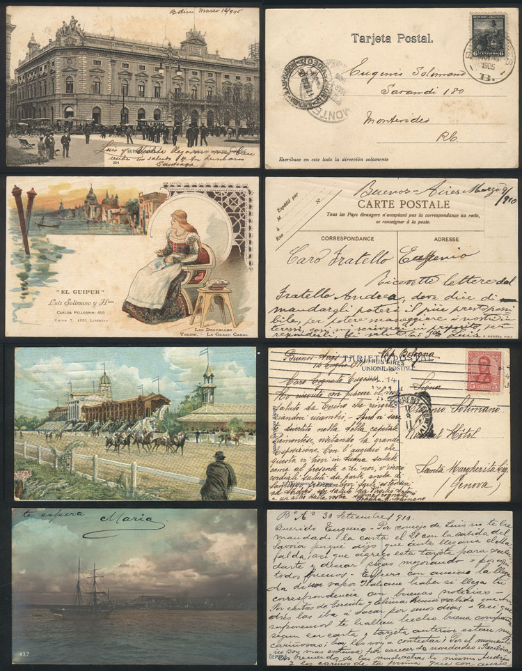Lot 1165 - Argentina postcards -  Guillermo Jalil - Philatino Auction # 2120 WORLDWIDE + ARGENTINA: General June auction