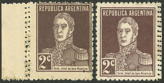 Lot 576 - Argentina general issues -  Guillermo Jalil - Philatino Auction # 2120 WORLDWIDE + ARGENTINA: General June auction