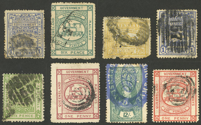 Lot 1225 - Australia queensland -  Guillermo Jalil - Philatino Auction # 2120 WORLDWIDE + ARGENTINA: General June auction