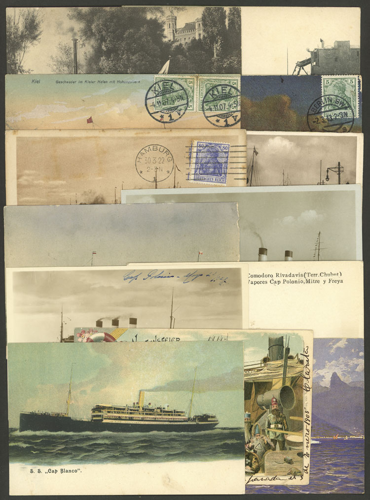 Lot 97 - germany postcards -  Guillermo Jalil - Philatino Auction # 2120 WORLDWIDE + ARGENTINA: General June auction
