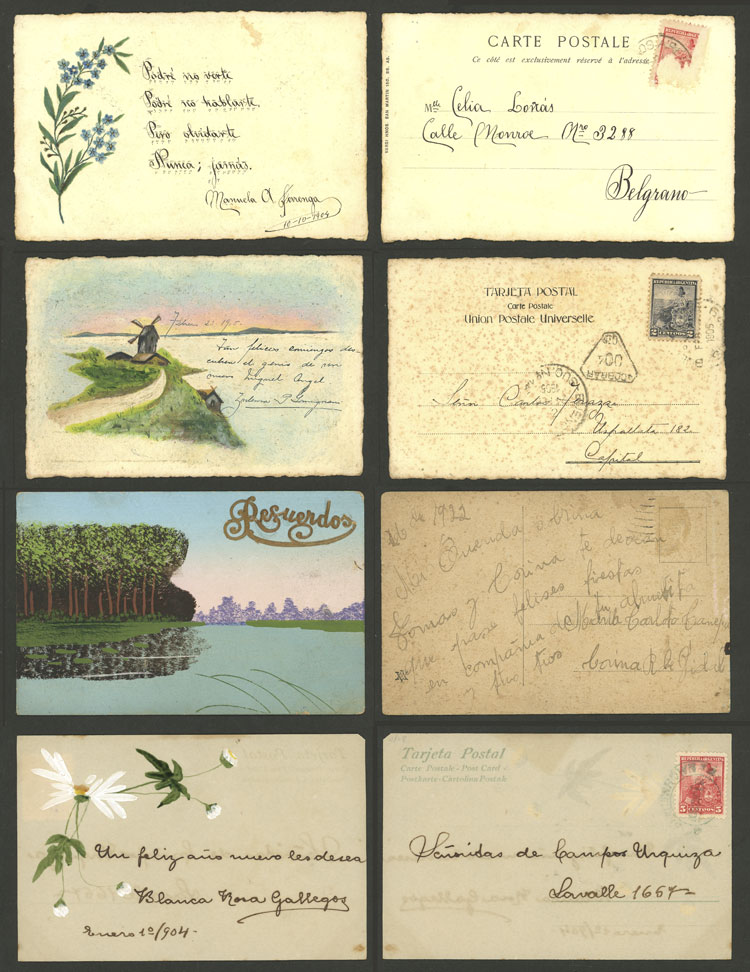 Lot 2890 - worldwide postcards -  Guillermo Jalil - Philatino Auction # 2120 WORLDWIDE + ARGENTINA: General June auction
