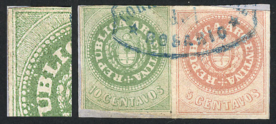 Lot 249 - Argentina escuditos -  Guillermo Jalil - Philatino Auction # 2120 WORLDWIDE + ARGENTINA: General June auction