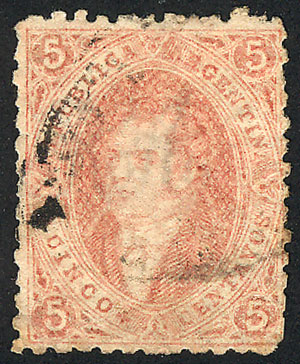 Lot 306 - Argentina rivadavias -  Guillermo Jalil - Philatino Auction # 2120 WORLDWIDE + ARGENTINA: General June auction
