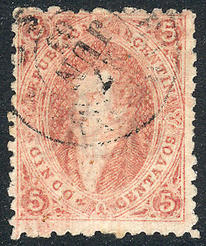 Lot 301 - Argentina rivadavias -  Guillermo Jalil - Philatino Auction # 2120 WORLDWIDE + ARGENTINA: General June auction
