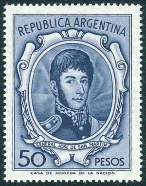 Lot 678 - Argentina general issues -  Guillermo Jalil - Philatino Auction # 2120 WORLDWIDE + ARGENTINA: General June auction