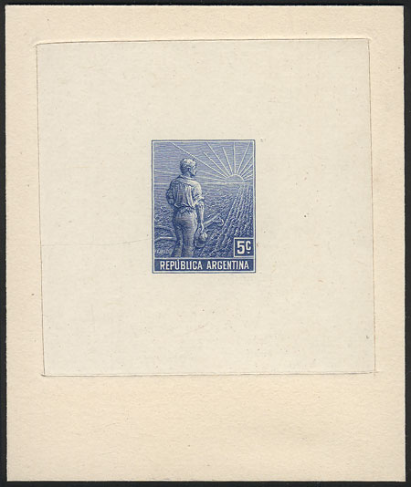 Lot 534 - Argentina general issues -  Guillermo Jalil - Philatino Auction # 2120 WORLDWIDE + ARGENTINA: General June auction