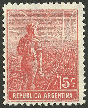 Lot 16 - Argentina general issues -  Guillermo Jalil - Philatino Auction # 2121 ARGENTINA: Special auction,118 lots with VERY LOW STARTS!!