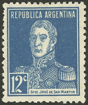 Lot 25 - Argentina general issues -  Guillermo Jalil - Philatino Auction # 2121 ARGENTINA: Special auction,118 lots with VERY LOW STARTS!!