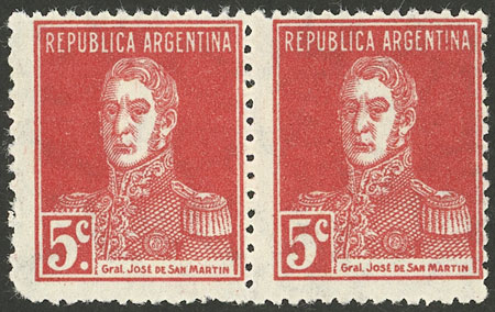 Lot 24 - Argentina general issues -  Guillermo Jalil - Philatino Auction # 2121 ARGENTINA: Special auction,118 lots with VERY LOW STARTS!!