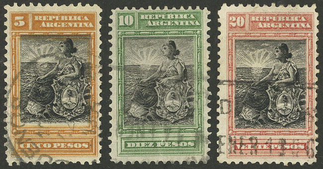 Lot 15 - Argentina general issues -  Guillermo Jalil - Philatino Auction # 2121 ARGENTINA: Special auction,118 lots with VERY LOW STARTS!!