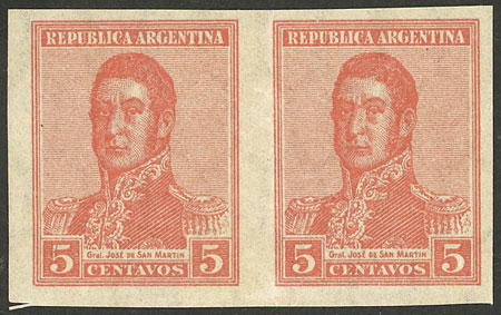 Lot 17 - Argentina general issues -  Guillermo Jalil - Philatino Auction # 2121 ARGENTINA: Special auction,118 lots with VERY LOW STARTS!!