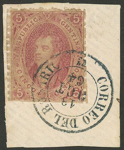 Lot 8 - Argentina rivadavias -  Guillermo Jalil - Philatino Auction # 2121 ARGENTINA: Special auction,118 lots with VERY LOW STARTS!!