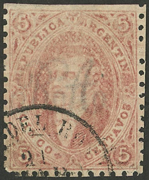 Lot 9 - Argentina rivadavias -  Guillermo Jalil - Philatino Auction # 2121 ARGENTINA: Special auction,118 lots with VERY LOW STARTS!!