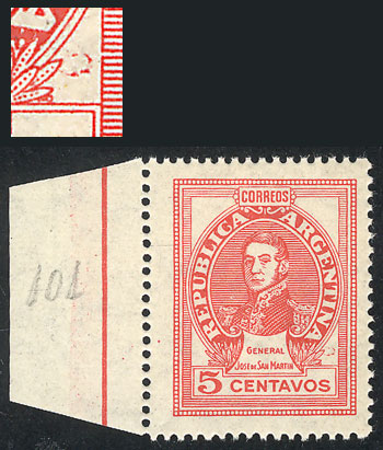 Lot 721 - Argentina general issues -  Guillermo Jalil - Philatino Auction # 2122 ARGENTINA: