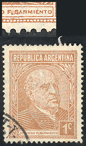 Lot 482 - Argentina general issues -  Guillermo Jalil - Philatino Auction # 2122 ARGENTINA: