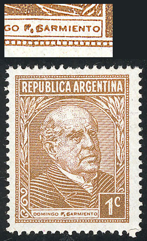 Lot 619 - Argentina general issues -  Guillermo Jalil - Philatino Auction # 2122 ARGENTINA: