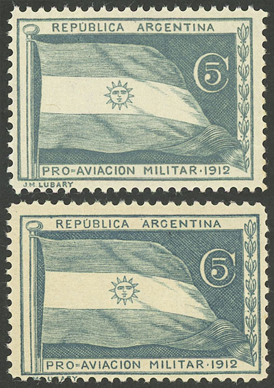Lot 1874 - Argentina private posts -  Guillermo Jalil - Philatino Auction # 2122 ARGENTINA:
