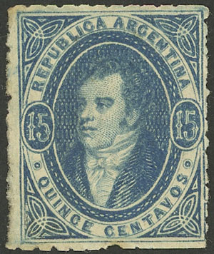 Lot 111 - Argentina rivadavias -  Guillermo Jalil - Philatino Auction # 2122 ARGENTINA: