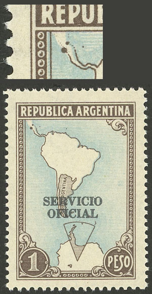 Lot 1779 - Argentina official stamps -  Guillermo Jalil - Philatino Auction # 2122 ARGENTINA:
