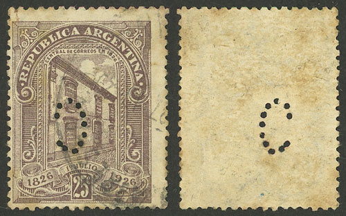 Lot 440 - Argentina general issues -  Guillermo Jalil - Philatino Auction # 2122 ARGENTINA: