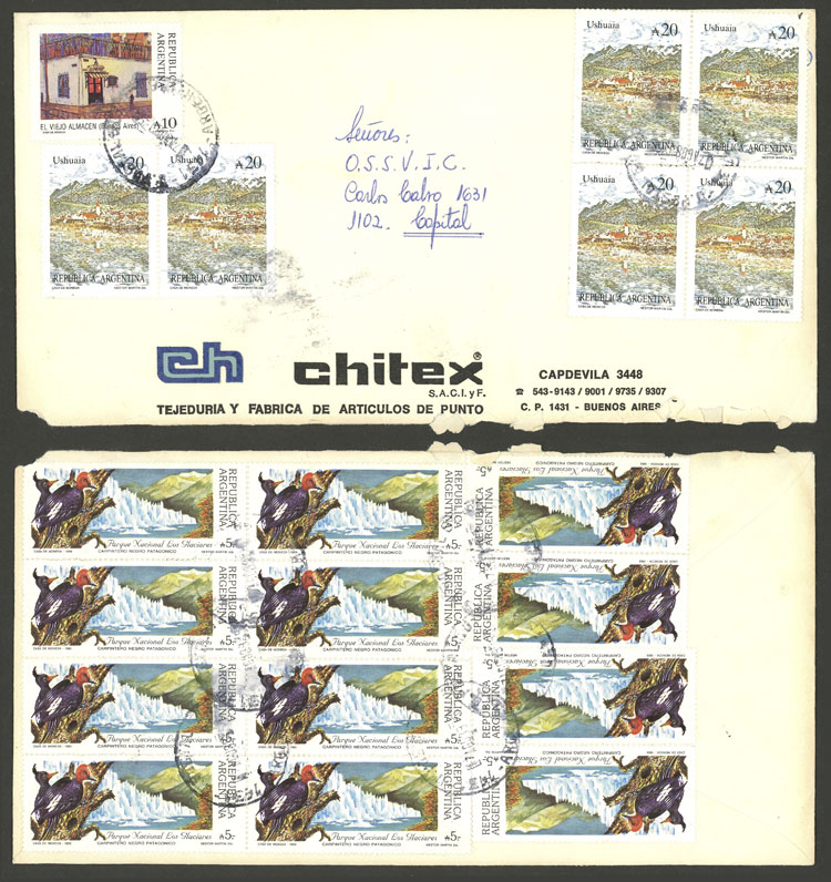 Lot 2117 - Argentina postal history -  Guillermo Jalil - Philatino Auction # 2122 ARGENTINA: