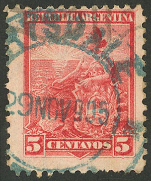 Lot 251 - Argentina general issues -  Guillermo Jalil - Philatino Auction # 2122 ARGENTINA:
