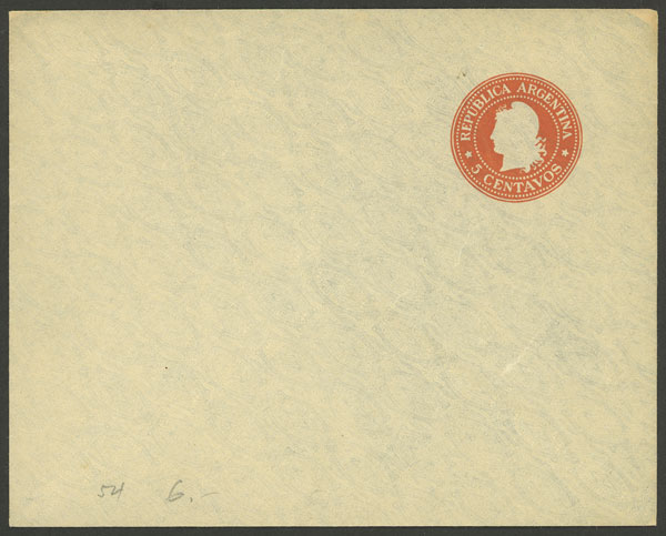 Lot 1920 - Argentina Postal stationery -  Guillermo Jalil - Philatino Auction # 2122 ARGENTINA: