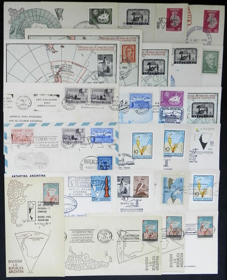 Lot 5 - argentine antarctica postal history -  Guillermo Jalil - Philatino Auction # 2122 ARGENTINA: