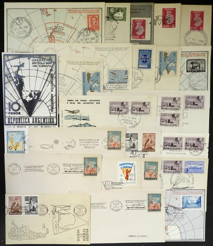 Lot 4 - argentine antarctica postal history -  Guillermo Jalil - Philatino Auction # 2122 ARGENTINA: