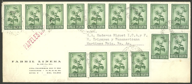 Lot 2079 - Argentina postal history -  Guillermo Jalil - Philatino Auction # 2122 ARGENTINA: