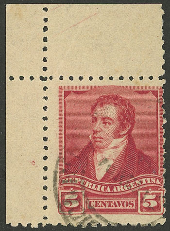 Lot 210 - Argentina general issues -  Guillermo Jalil - Philatino Auction # 2122 ARGENTINA: