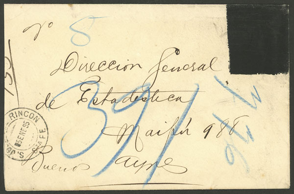 Lot 1929 - Argentina Postal stationery -  Guillermo Jalil - Philatino Auction # 2122 ARGENTINA: