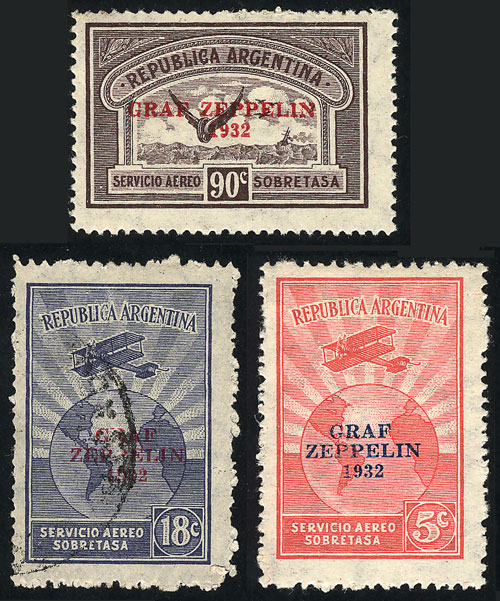 Lot 1501 - Argentina airmail -  Guillermo Jalil - Philatino Auction # 2122 ARGENTINA: