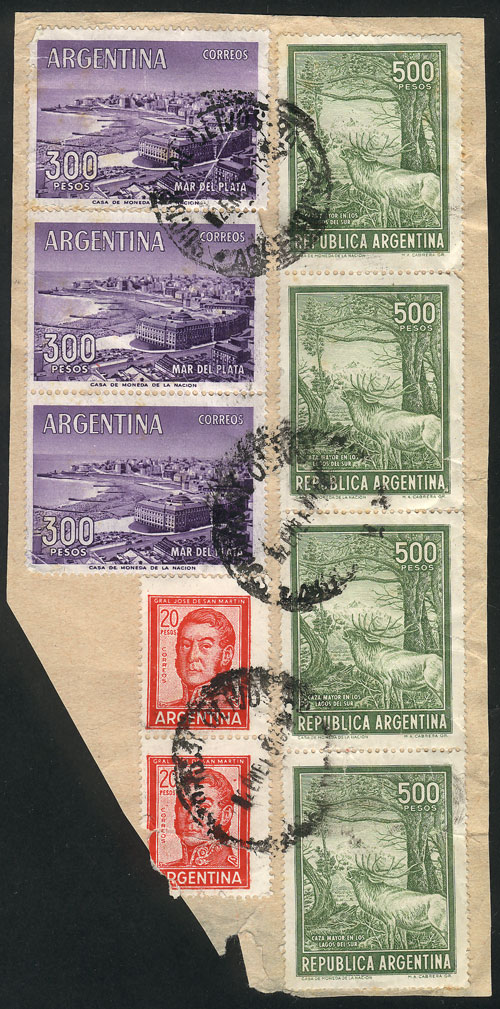 Lot 2074 - Argentina postal history -  Guillermo Jalil - Philatino Auction # 2122 ARGENTINA: