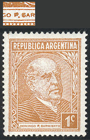 Lot 618 - Argentina general issues -  Guillermo Jalil - Philatino Auction # 2122 ARGENTINA: