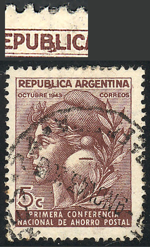 Lot 767 - Argentina general issues -  Guillermo Jalil - Philatino Auction # 2122 ARGENTINA: