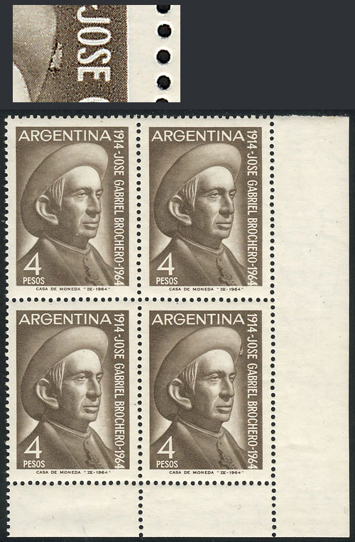 Lot 1073 - Argentina general issues -  Guillermo Jalil - Philatino Auction # 2122 ARGENTINA: