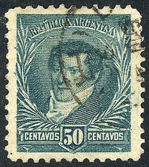Lot 224 - Argentina general issues -  Guillermo Jalil - Philatino Auction # 2122 ARGENTINA:
