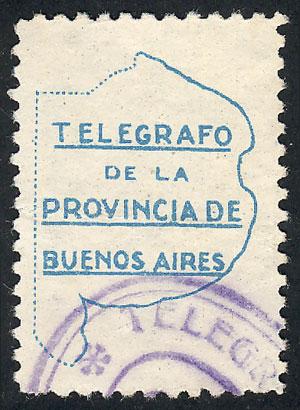 Lot 1868 - Argentina telegraph seals -  Guillermo Jalil - Philatino Auction # 2122 ARGENTINA: