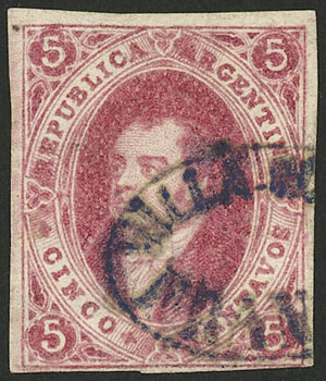 Lot 42 - Argentina rivadavias -  Guillermo Jalil - Philatino Auction # 2123 ARGENTINA: Special July auction!