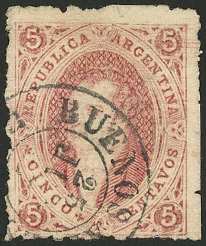 Lot 40 - Argentina rivadavias -  Guillermo Jalil - Philatino Auction # 2123 ARGENTINA: Special July auction!